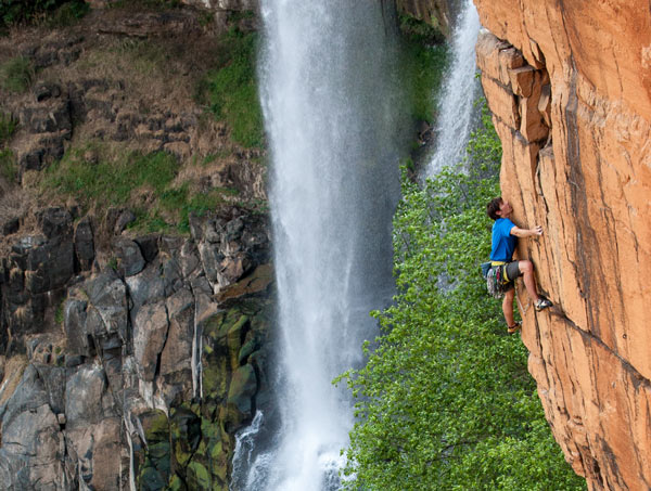 Honnold Waterval Boven